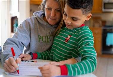 Unicef recomienda ayudar a niños a sobrellevar la cuarentena/Foto: Unicef