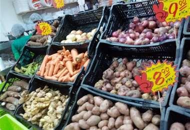 En los supermercados incluso algunos productos están más baratos