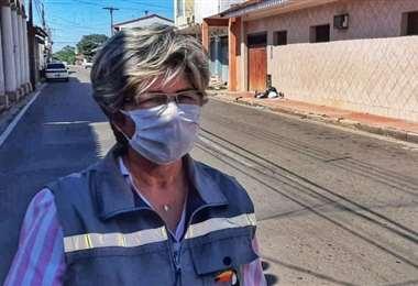 María Elva Pinkert pidió cuatro días de permiso para socorrer a Monteroa