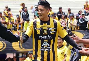 Ramiro Vaca, jugador de The Strongest. Foto: Prensa The Strongest