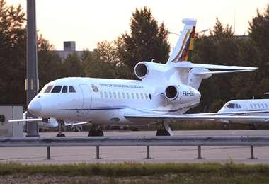 La aeronave adquirida por el Gobierno del MAS I Foto: archivo.