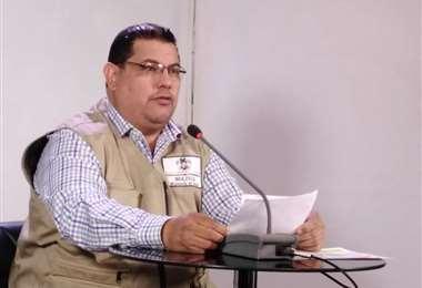 Roberto Vargas, jefe nacional de Epidemiología | Foto: Ministerio de Comunicación