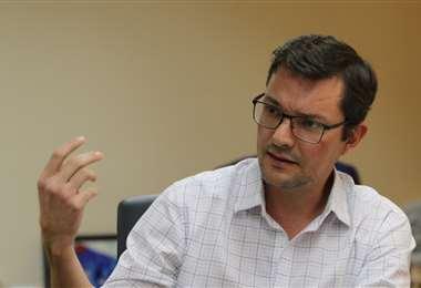 Fernando Hurtado también manifestó que hay que estar preparados para actuar después de la pandemia. Foto: Ricardo Montero