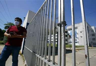 Las actividades en la Uagrm están suspendidas /Foto:Fuad Landívar