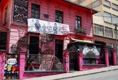 La casa de Mujeres Creando en La Paz