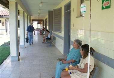 Foto de archivo, hospital de Beni