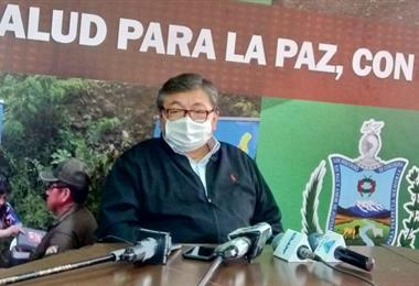 Dr. Rene Sahonero, director técnico del Sedes de La Paz