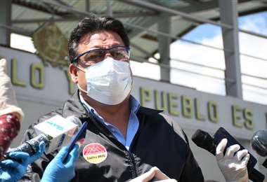 El alcalde de La Paz I Foto: GAMLP.