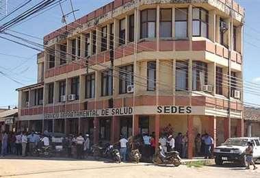 El edificio del Sedes en Trinidad/ABI