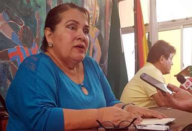 Lily Rocabado es presidenta de la comisión de fútbol femenino de la FBF y también es titular de la ACF. Foto: EL DEBER