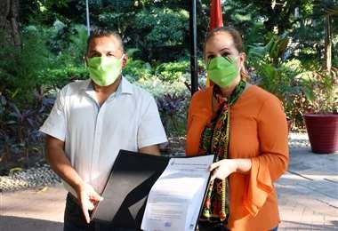 Hace seis días fue posesionado en el cargo por la alcaldesa Angélica Sosa