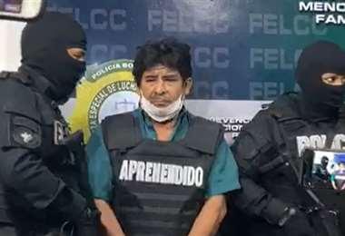Rodríguez fue presentado este jueves por la Policía