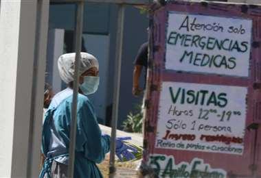 Los casos positivos de coronavirus siguen aumentando en el país. Foto Ricardo Montero
