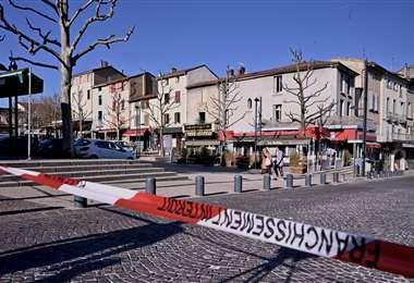 Lugar donde sucedió el primer ataque. Foto AFP