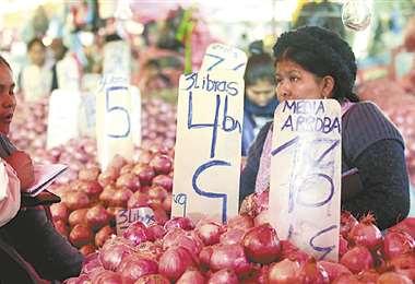 Los precios de los alimentos tuvieron un leve aumento