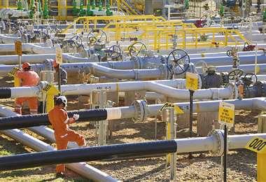 Bolivia, que exporta gas a Argentina y Brasil, es el más favorecido en la coyuntura/FOTO: YPFB