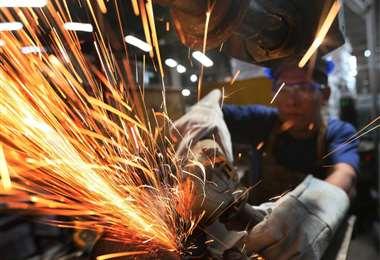Más del 90% el sector industrial está paralizada por el emergencia sanitaria/Foto: Fuad Landívar