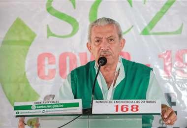 Urenda confirmó la recuperación del segundo paciente en Santa Cruz. Foto Ricardo Montero