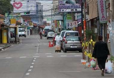 Los controles han sido más rígidos en Montero desde el lunes (foto: Juan Carlos Fernández)