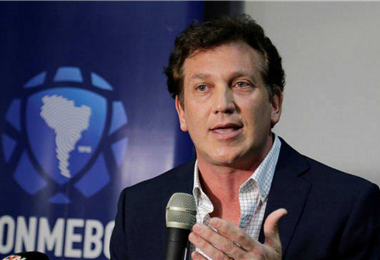 Domínguez, preside la Conmebol desde 2016