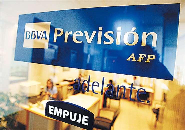BBVA Previsión y AFP Futuro de Bolivia son las administradoras que operan en Bolivia. Foto: Ricardo Montero