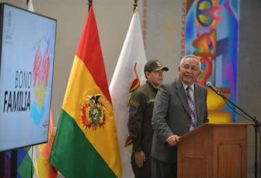 Víctor Hugo Cárdenas, ministro de Educación I Foto: Presidencia.