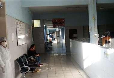 Instalaciones del hospital Alfonso Gumucio, en Montero