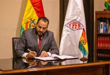 Solíz brindará mayores detalles este viernes en la mañana. Foto YPFB