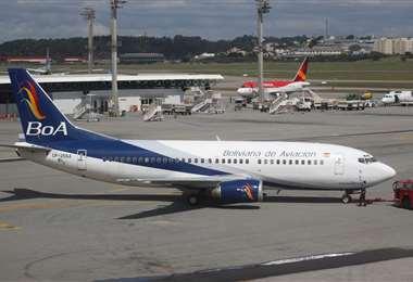La aerolínea se encargará del ingreso de equipos de bioseguridad en los próximos días. Foto: EL DEBER