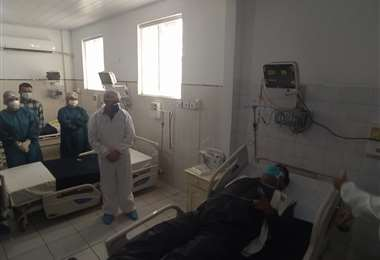 Foto referencial. El Gobierno asegura que equipará centros hospitalarios para hacer frente a la pandemia.