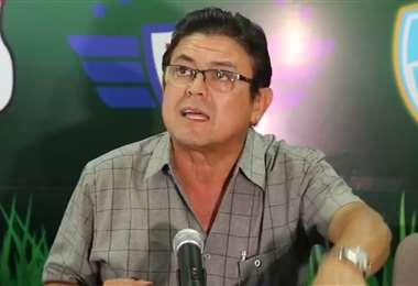 Omar Dorado es gerente de Concesiones de Licencias de Clubes de la FBF. Foto: Internet