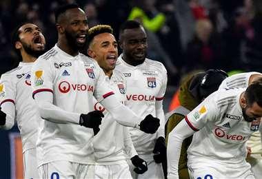 El Lyon ocupaba el séptimo lugar en la Ligue 1 cuando se paralizó el torneo. Foto: Internet