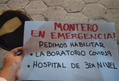 Montero, en emergencia, pide la entrega de un hospital