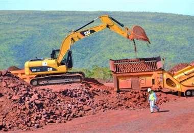 El yacimiento se encuentra en la zona sudeste de Santa Cruz, en el municipio de Puerto Suárez. Foto: Fuad Landívar