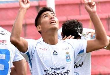 Julio Herrera sorprendió en el Apertura 2020 con sus dos golazos en la Villa Imperial ante Real Potosí. Foto: El Deber