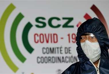 La cifra de contagios sigue subiendo en Santa Cruz. Foto Ricardo Montero