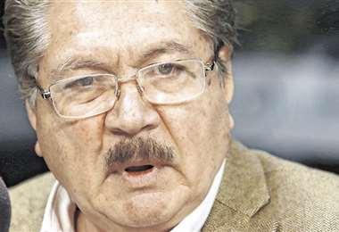 El médico Herland Vaca Díez / Jorge Ibáñez