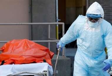 Estados Unidos reporte más de 700 muertos por Covid-19