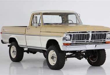 Moderniza camioneta Ford Ranger 1970