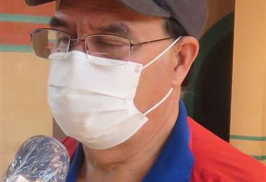 Robert Villazón, vocero del COEM