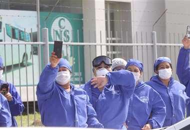 La enfermería es una vocación indispensable, hoy más que nunca. Foto. Jorge Ibáñez