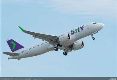 La línea aérea chilena volará desde el próximo mes. Foto Internet