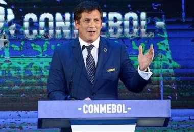 El paraguayo Alejandro Domínguez es el actual presidente de la Conmebol. Foto: Internet