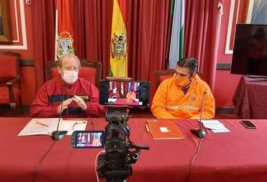 Autoridades de Tarija