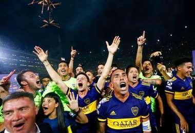 Boca Juniors es el actual campeón del fútbol argentino. Foto: Internet