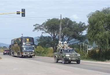 Bolivianos repatriados de Argentina/Foto: Saido Velásquez
