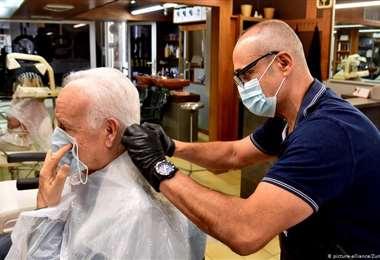 Las peluquerías tienen que tomar todas las precauciones posibles. Foto Internet