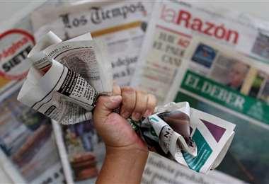 Impresos de Bolivia. Foto: Jorge Gutiérrez