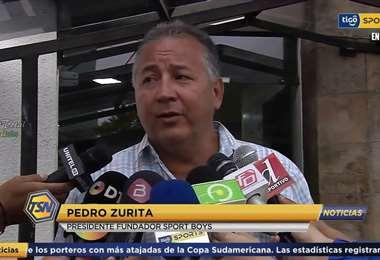Pedro Zurita, presidente y propietario del club Sport Boys. Foto: internet