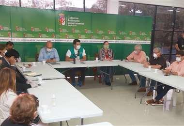 Reunión del COED (Foto: Gobernación)